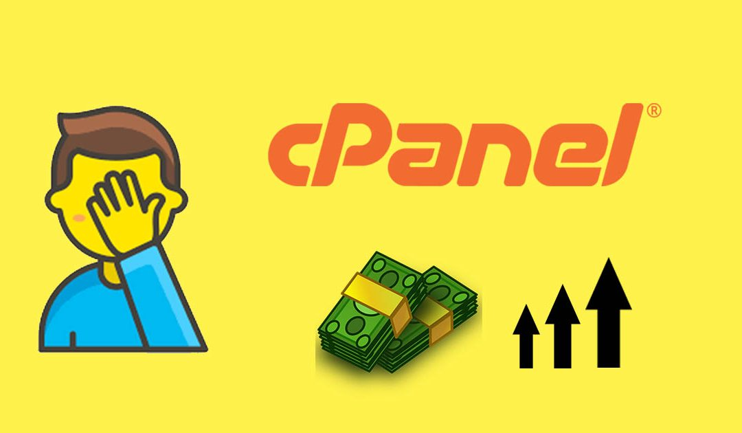 Cpanel Price Increase 1080x630